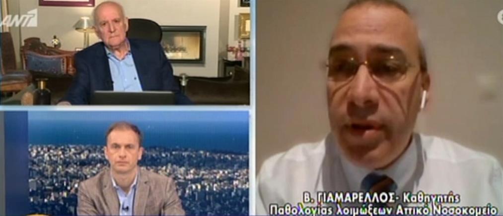 Γιαμαρέλλος στον ΑΝΤ1: Ο κορονοϊός αιφνιδίασε την παγκόσμια ιατρική κοινότητα (βίντεο)