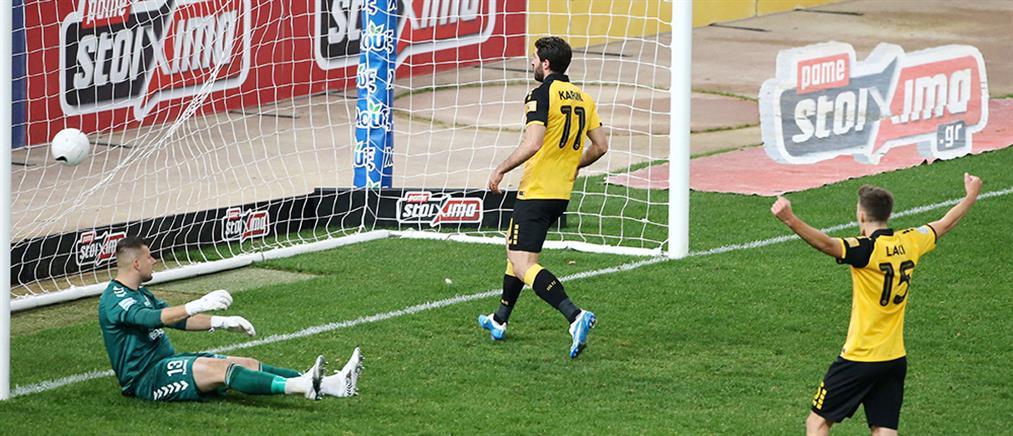 Εύκολη νίκη της ΑΕΚ επί του Απόλλωνα Σμύρνης