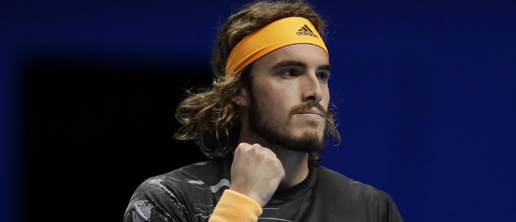 ATP Finals: Εντυπωσιακός ο Στέφανος Τσιτσιπάς, διέλυσε τον Ζβέρεφ
