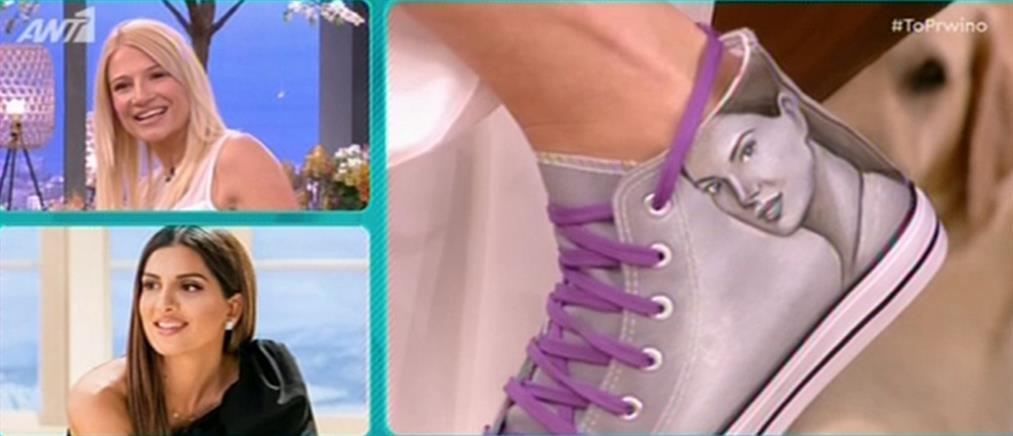 Η πρόκληση του Μουτσινά, η Φαίη Σκορδά και τα παπούτσια με την Τσιμτσιλή (βίντεο)