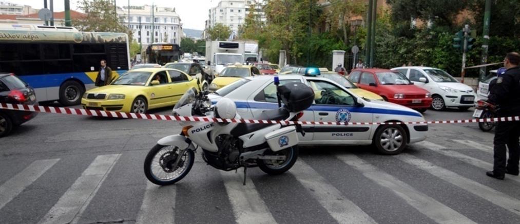 Κυκλοφοριακές ρυθμίσεις στη λεωφόρο Μεσογείων