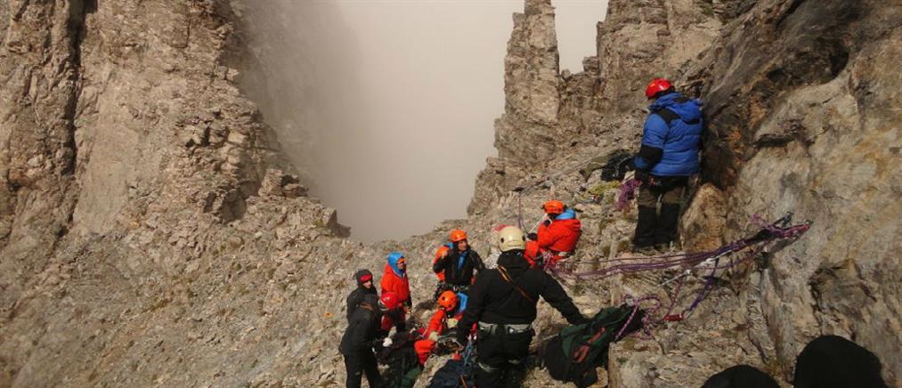 Σοβαρό ατύχημα με ορειβάτισσα στον Όλυμπο