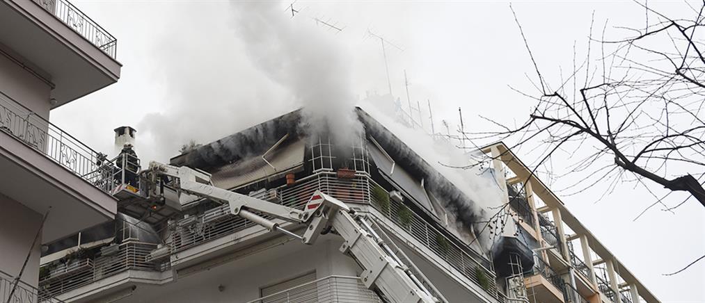 Θεσσαλονίκη: φονική η φωτιά σε διαμέρισμα