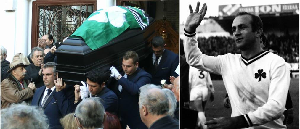"""Το τελευταίο """"αντίο"""" στον Τάκη Λουκανίδη (φωτο)"""