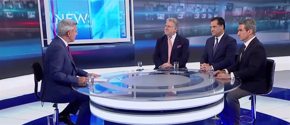 Κατρούγκαλος – Γεωργιάδης – Λοβέρδος στον ΑΝΤ1 για τις εκλογές (βίντεο)
