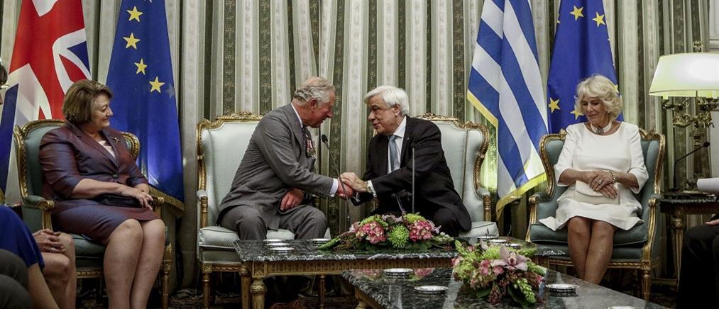 Καρέ-καρέ η επίσκεψη του Καρόλου και της Καμίλα στην Ελλάδα (εικόνες)