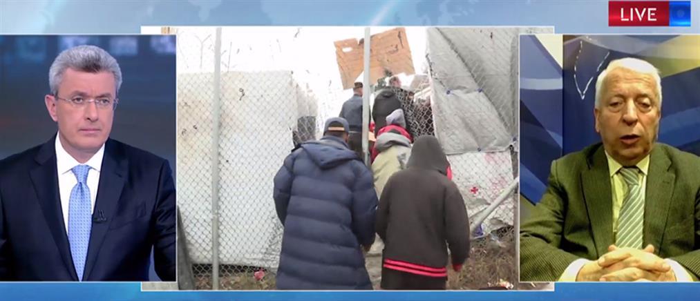 Μουτζούρης στον ΑΝΤ1 για Μεταναστευτικό: Απορρίπτουμε το σχέδιο της Κυβέρνησης (βίντεο)