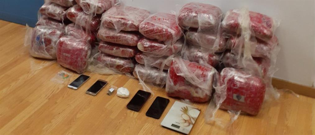 Σύλληψη αλλοδαπών για διακίνηση ναρκωτικών