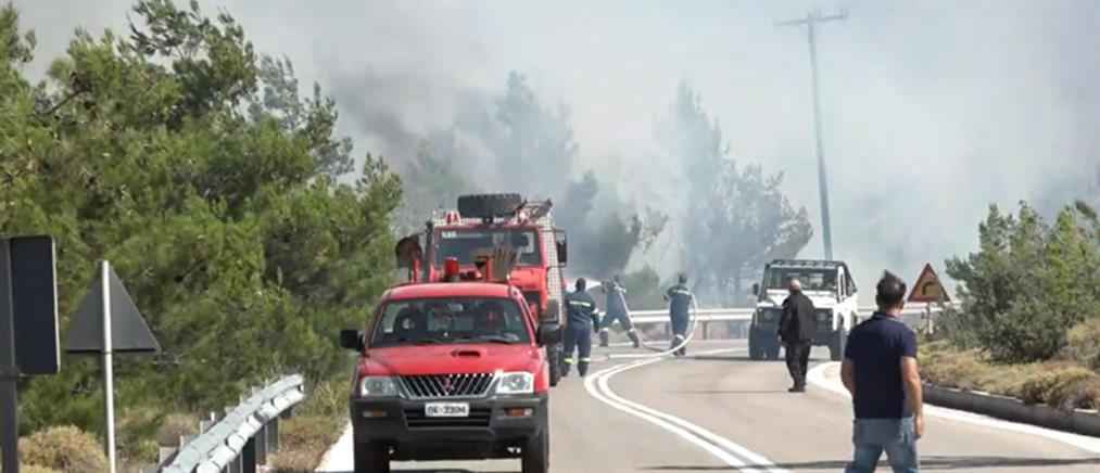Φωτιά στην Χίο: Νεκρός πυροσβέστης στην Κατάβαση