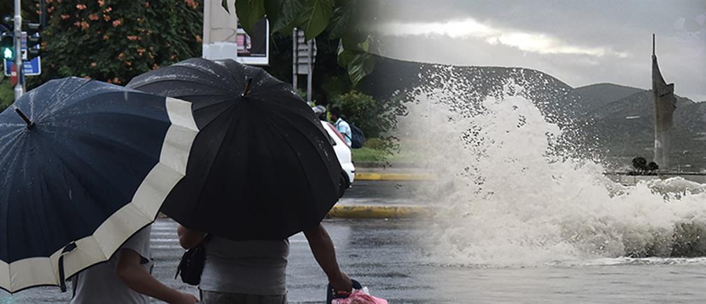 Καιρός: νοτιάδες και τοπικές βροχές την Τρίτη