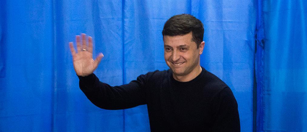 Ουκρανία: Ένας κωμικός νικητής στο πρώτο γύρο των εκλογών