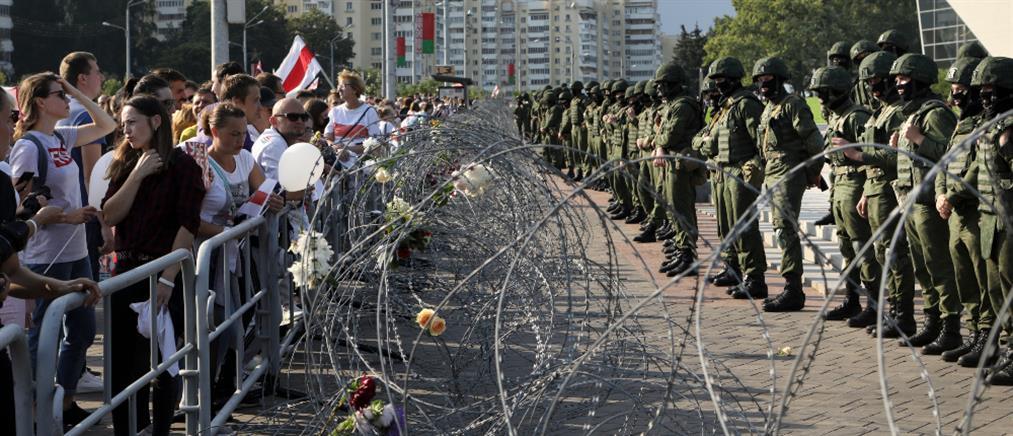 Λευκορωσία: Συλλήψεις εκατοντάδων διαδηλωτών (βίντεο)