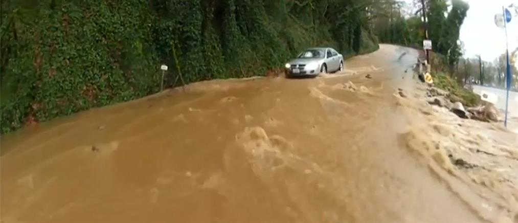 Εκκένωση περιοχών του Όρεγκον εξαιτίας των καταστροφικών πλημμυρών
