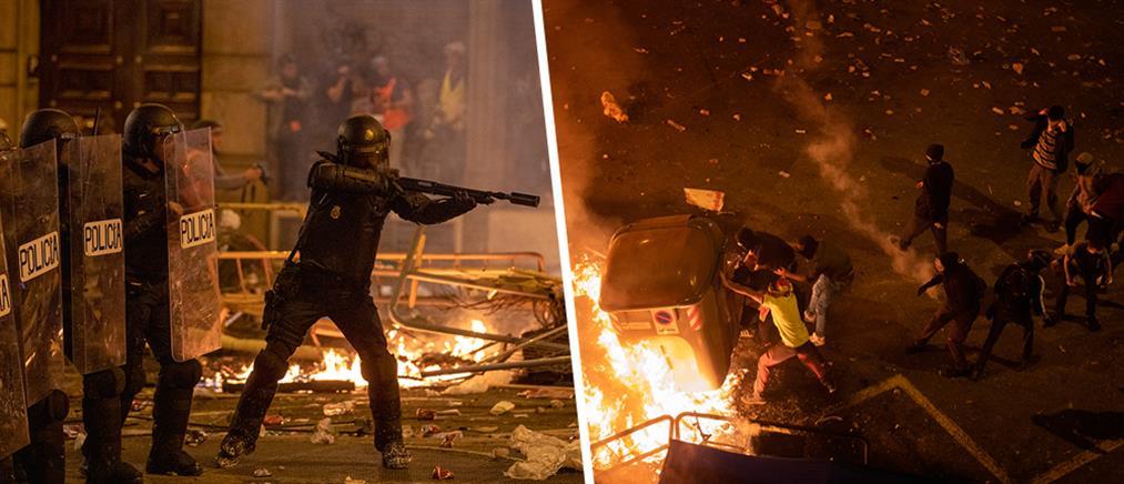 """""""Πεδίο μάχης"""" η Βαρκελώνη (εικόνες)"""