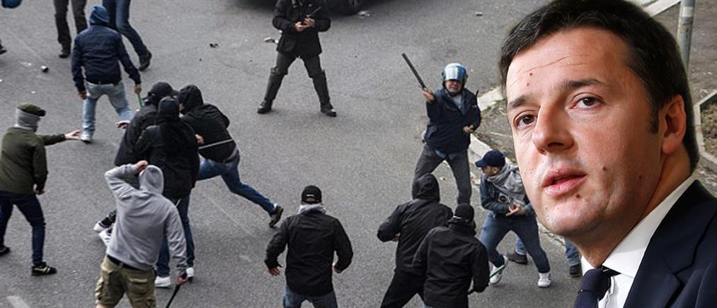 Μέτρα κατά της βίας στα γήπεδα προαναγγέλλει ο Ιταλός πρωθυπουργός