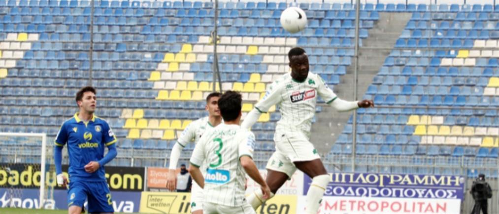 """Αστέρας Τρίπολης – Παναθηναϊκός: """"Μοιρασιά"""" με γκολ… του τερματοφύλακα"""