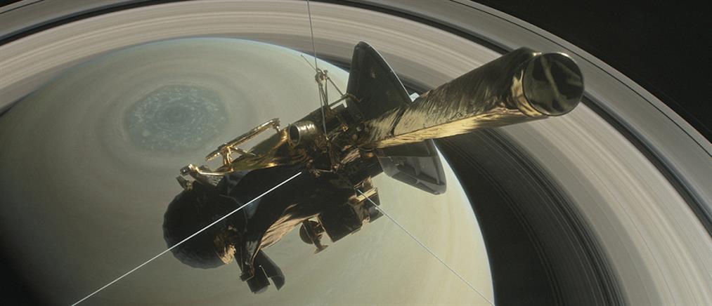 """Βουτιά """"θανάτου"""" στον Κρόνο για το Cassini"""