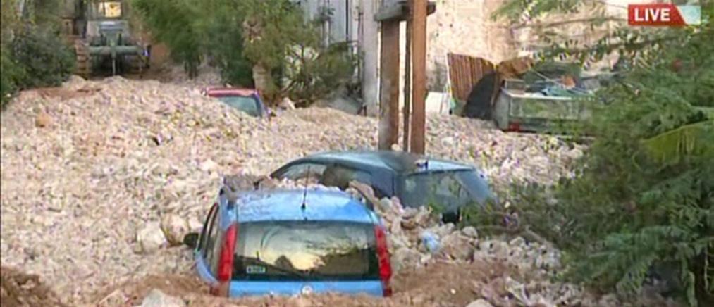 O ANT1 στην Κεφαλονιά: Συγκλονίζουν οι εικόνες της βιβλικής καταστροφής (βίντεο)