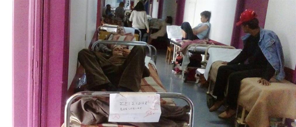 """Φωτογραφία ντοκουμέντο: """"Κόλαση"""" στην ψυχιατρική κλινική του """"Ευαγγελισμός"""""""
