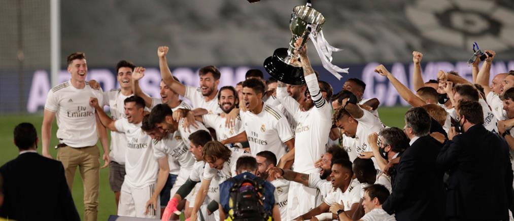 Πρωταθλήτρια Ισπανίας η Ρεάλ (εικόνες)