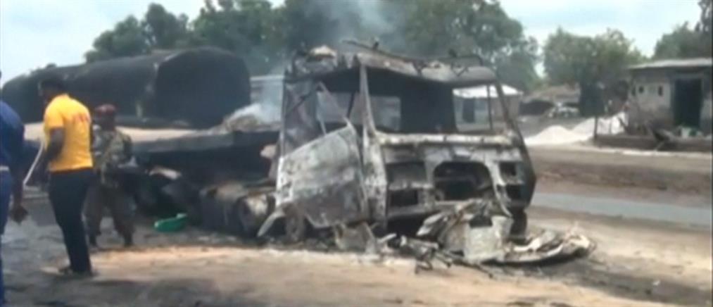 Δεκάδες νεκροί από έκρηξη βυτιοφόρου (βίντεο)