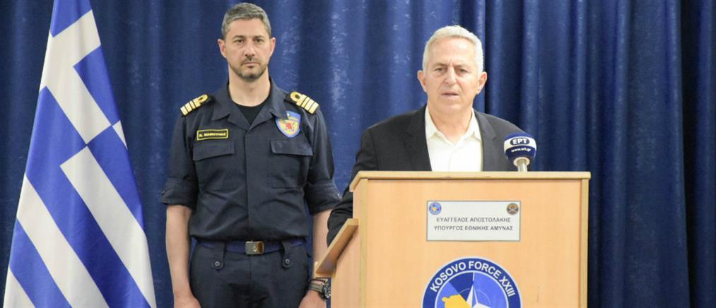Μήνυμα Αποστολάκη στις Ένοπλες Δυνάμεις για σεβασμό της Συμφωνίας των Πρεσπών