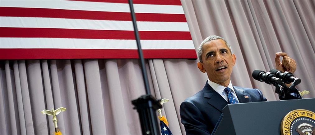 Oμπάμα: Απόρριψη της συμφωνίας για το Ιράν συνεπάγεται με πόλεμο στη Μέση Ανατολή