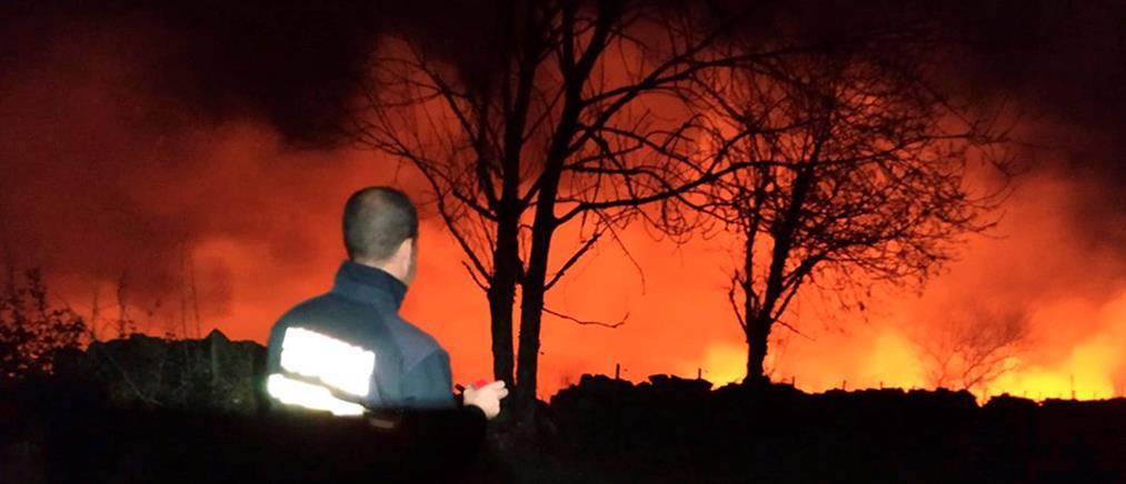 Δεκάδες φωτιές στην Ισπανία (εικόνες)