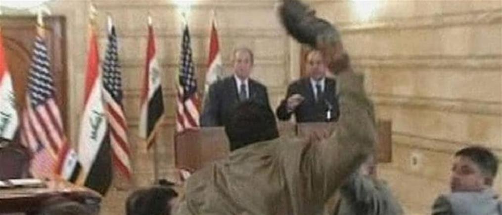 Υποψήφιος βουλευτής ο Ιρακινός που πέταξε τα παπούτσια του στον Μπους