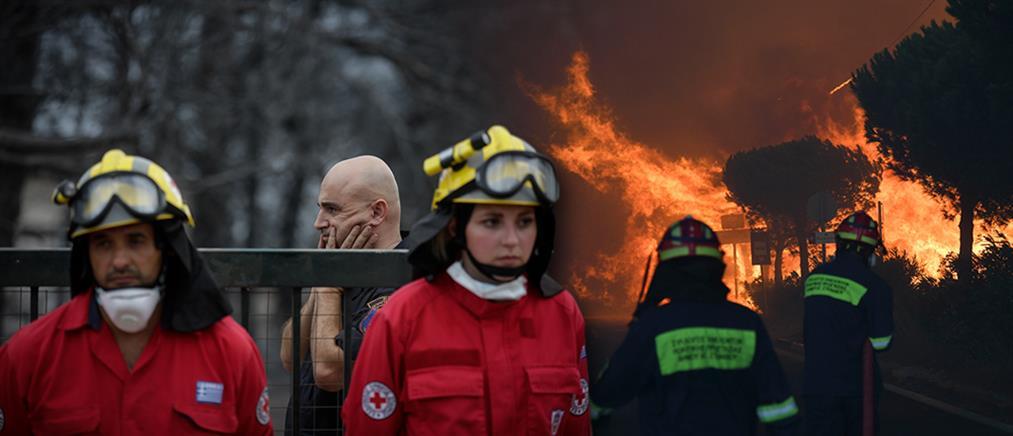 Αξιωματικός Ειδικών Δυνάμεων: η πυρκαγιά στο Νέο Βουτζά όπως την έζησα