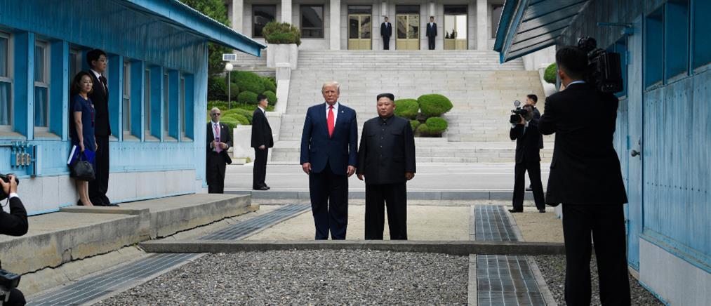 """""""Όχι"""" Τραμπ στην πρόσκληση του Κιμ Γιονγκ Ουν"""