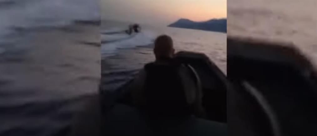 Λευκάδα: Ντοκουμέντο από την καταδίωξη εν πλω με πυροβολισμούς (βίντεο)