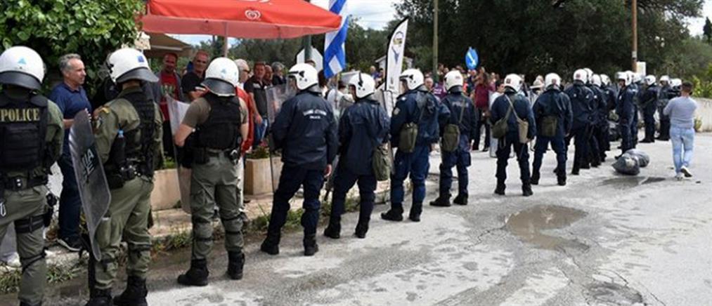 Επεισόδια και προσαγωγές στην Κέρκυρα
