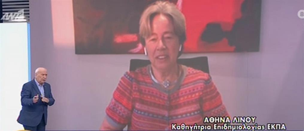 Κορονοϊός - Λινού: Πρόβλεψη για πολλά κρούσματα στα σχολεία (βίντεο)