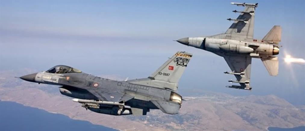 Τουρκικό F-16 έκανε υπέρπτηση πάνω από τη Σάμο