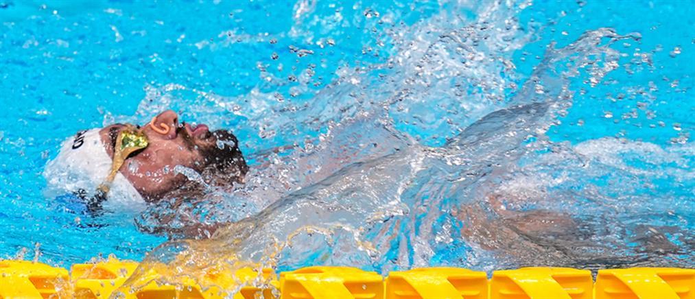 Παραολυμπιακοί Αγώνες: Τέταρτος ο Καρυπίδης στα 100μ. ύπτιο