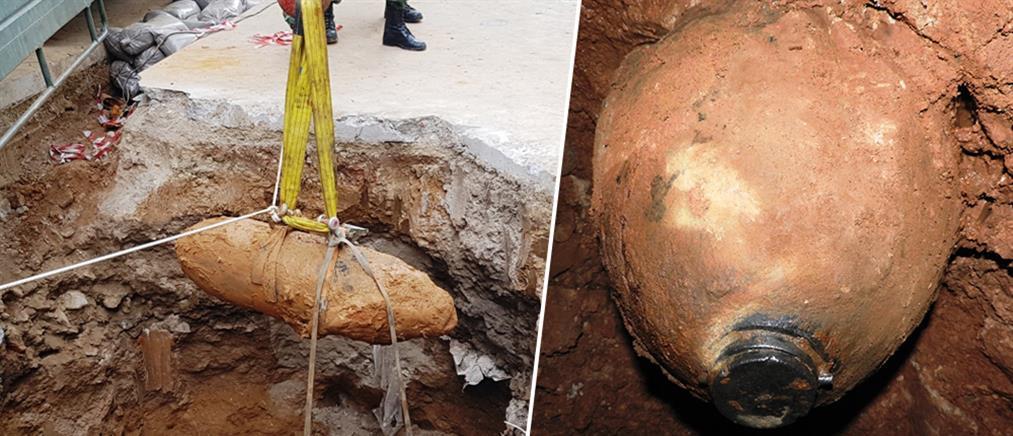 Καρέ – καρέ η εξουδετέρωση της βόμβας στο Κορδελιό (βίντεο)