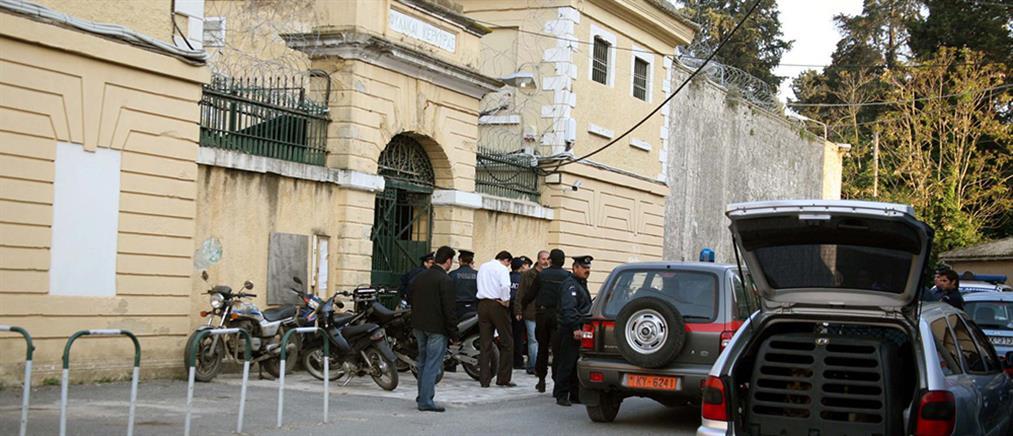 Συλλήψεις κρατουμένων στις φυλακές Κέρκυρας για οπλοκατοχή