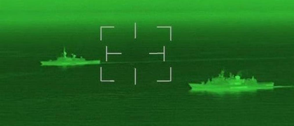 """""""Ύδρα"""": Εντυπωσιακές εικόνες από την φρεγάτα σε αποστολή στην Αραβική Θάλασσα"""