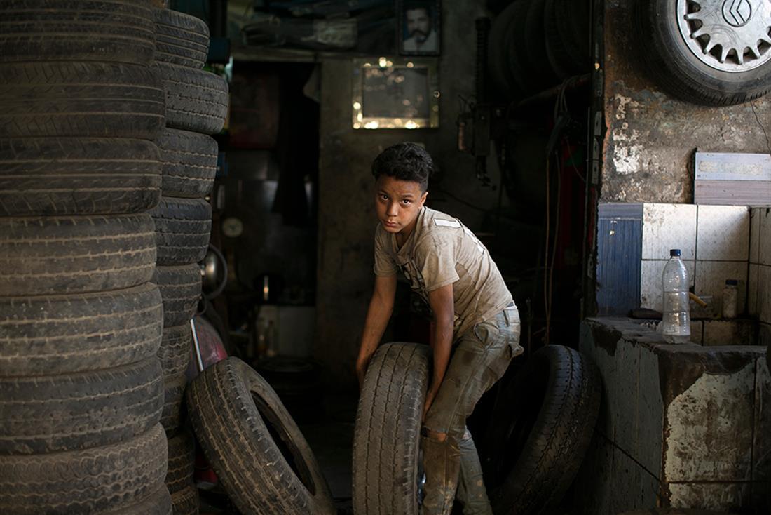AP - Παγκόσμια Ημέρα κατά της Παιδικής Εργασίας - Παιδική εργασία