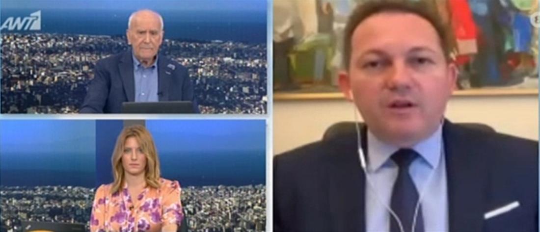 Ο Πέτσας στον ΑΝΤ1 για τον Τουρισμό και το σχέδιο στήριξης (βίντεο)