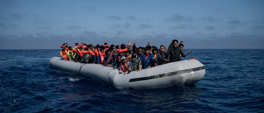 AP - Πρόσφυγες - βάρκα