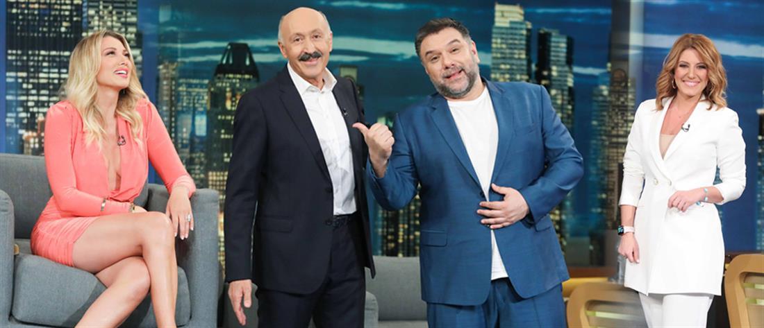 """The 2Night Show"": Λαμπεροί καλεσμένοι την Τετάρτη (εικόνες)"