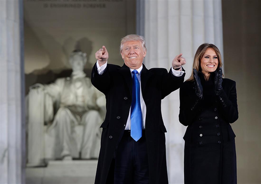 AP - Ντ. Τραμπ - ορκωμοσία