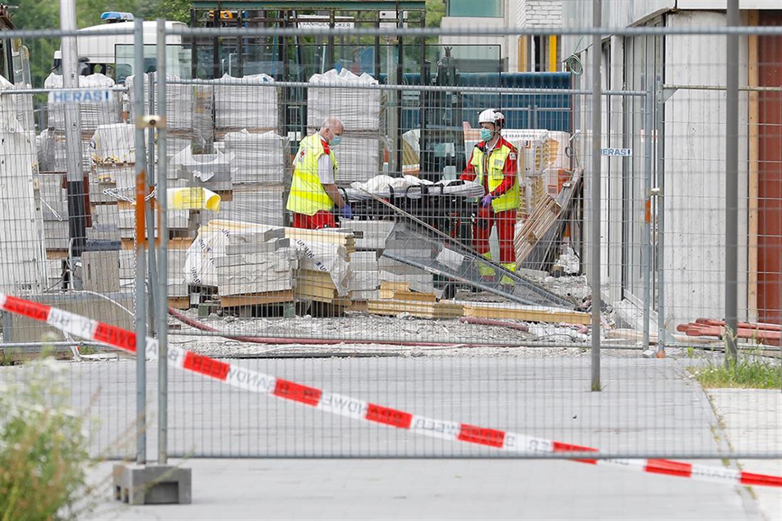 Κατάρρευση κτιρίου - Αμβέρσα - Βέλγιο