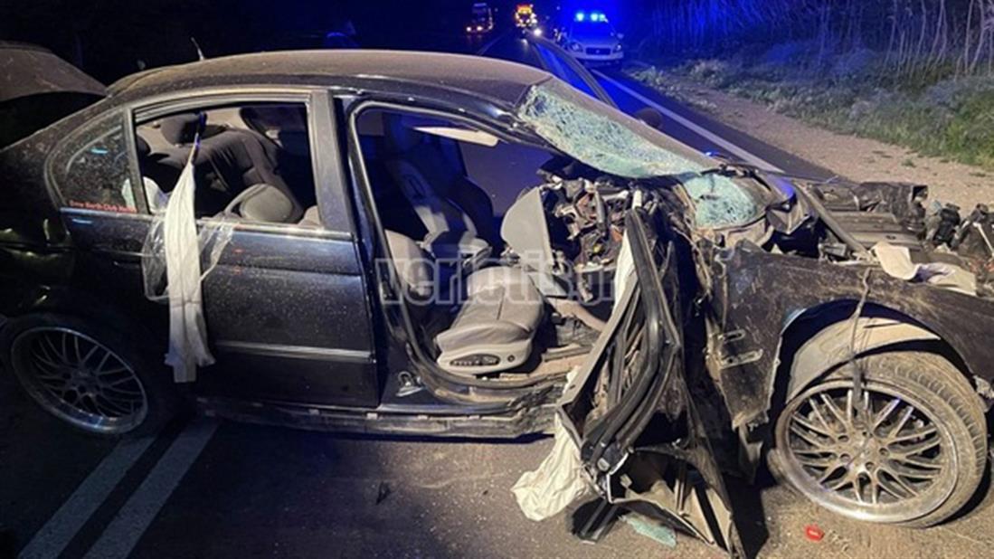 Τροχαίο ατύχημα - Παλαιά Εθνική Οδός Βέροιας-Θεσσαλονίκης.