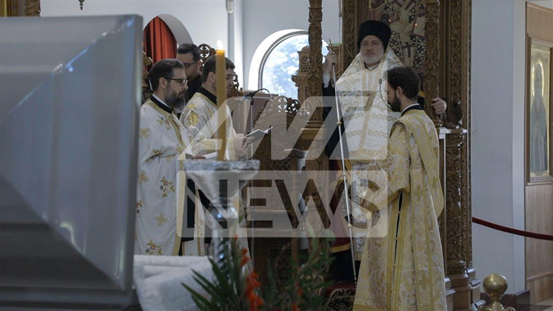 Γιώργος Ζαπάντης - κηδεία