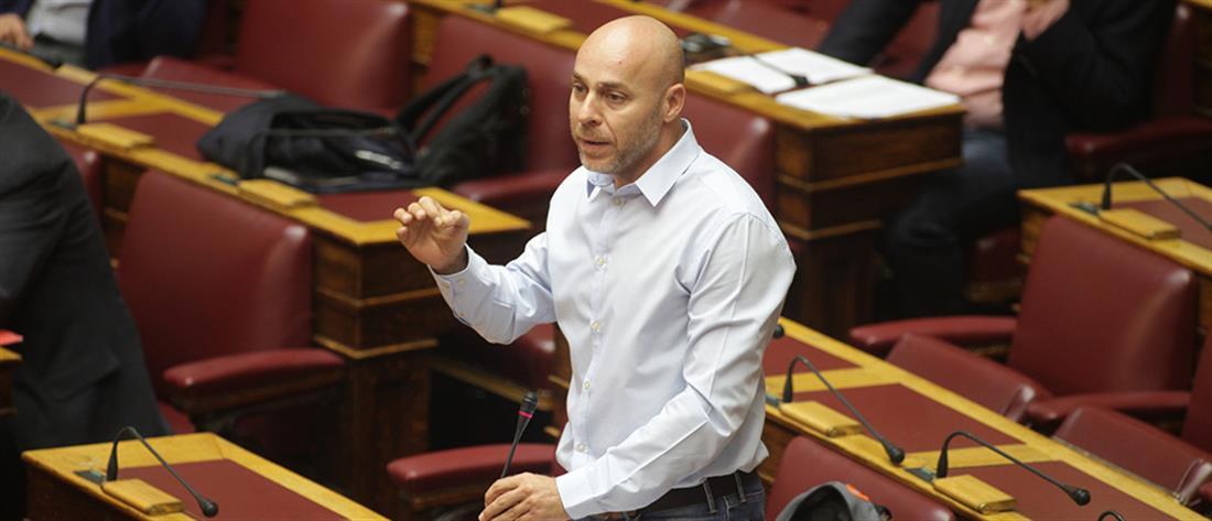 Παραίτηση Αμυρά από τη βουλευτική του έδρα