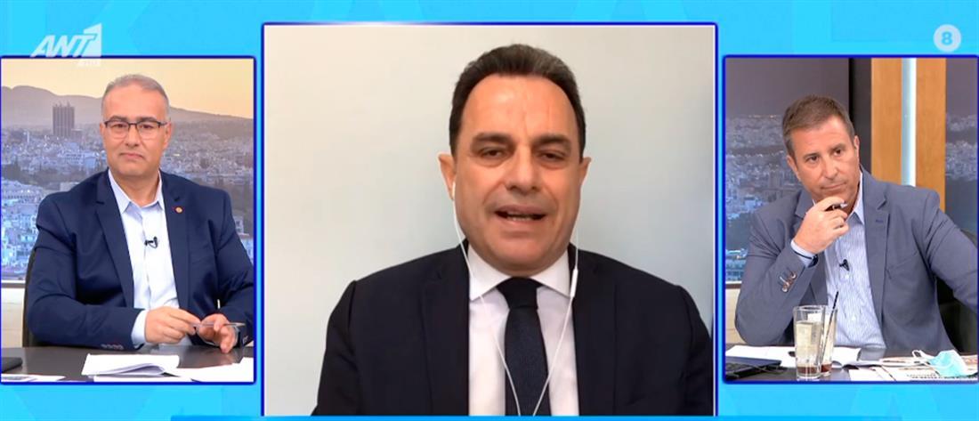 Γεωργαντάς στον ΑΝΤ1: η πανδημία επιτάχυνε την ψηφιοποίηση του κράτους (βίντεο)