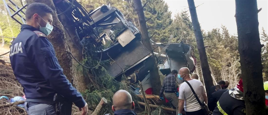 Ιταλία: Εφιαλτικό δυστύχημα σε τελεφερίκ (εικόνες)